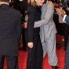 Audrey Estrougo, JoeyStarr - Montée des marches du film « Suprêmes» lors du 74ème Festival de Cannes