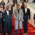 L'équipe de Suprême sur le tapis rouge