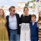 Katheryn Winnick, Sean Penn, Dylan Penn, Beckam Crawford, Jadyn Rylee au photocall du film Flag Day
