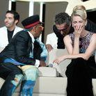 Mélanie Laurent hilare devant la gaffe de Spike Lee