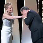 Sharon Stone et vincent lindon