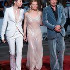 Jeanne Cherhal, Mélanie Thierry et Mathieu Amalric sur le tapis rouge du film «Tralala »