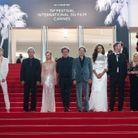 L'équipe du film «Tralala » sur les marches du Festival de Cannes