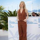 Mélanie Thierry en costume d'été