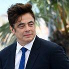 Benicio Del Toro au photocall du film The French Dispatch lors du 74e Festival de Cannes
