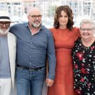 Roc Lafortune, Sylvain Marcel, Valérie Lemercier et Danielle Fichaud lors du photocall du film Aline