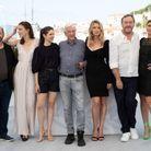 L'équipe du film Benedetta au photocall