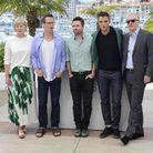 Guy Pearce, David Michôd et Robert Pattison et les producteurs de « The Rover »