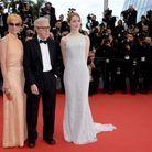 Parker Posey, Woody Allen et Emma Stone