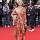 Amber Valletta en Mulberry à la première cannoise de Wonderstruck de Todd Haynes