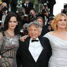 Eva Green, Roman Polanski et Emmanuelle Seigner