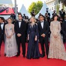 L'équipe du film « Tre Piani »