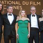 """L'équipe du film """"Stillwater"""" sur les marches du Palais des festivals"""