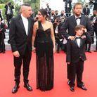 L'équipe du film « Les Intranquilles » sur le tapis rouge