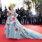 La robe en tulle de Sharon Stone