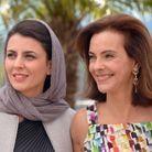Carole Bouquet et l'actrice iranienne Leila Hatami