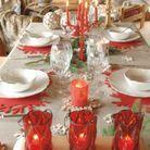 4 déco de table pour Noël