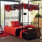 Ciel de lit ou lit à baldaquin ?