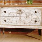 Commode ambiance tiffany