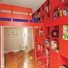 3. Une chambre d'enfant rouge