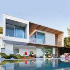 Visite maison design saint tropez