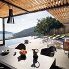 Visite maison design saint tropez terrasse