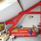 Renovation grange chambre enfants