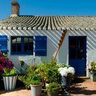 Une maison bleue à Noirmoutier