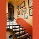 Une maison du XVIIIe ultra colorée, il fallait oser !