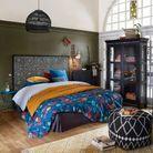 Tête de lit orientale marqueterie