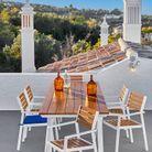 Une chaise de balcon Carrefour