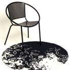 Chaise Conforama et tapis d'extérieur Tai Ping