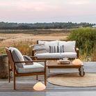 Table basse en bois de jardin