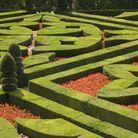 Jardin à la française au château de Villandry