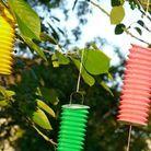 Les lampions cylindriques