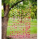Les rideaux de fleurs