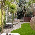 Jardin design exotique