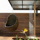 Douche exterieure en bois maisons du monde