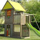 Cabane portique enfant la redoute