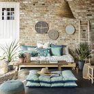 Equiper sa terrasse à petit prix avec des coussins de sol