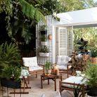 Equiper sa terrasse à petit prix avec une jardinière à suspendre