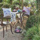 Le mobilier de jardin en fonte à l'anglaise