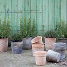 Jardinière traditionnelle en poterie