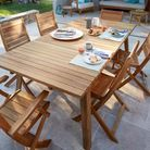 Table De Jardin En Bois Collection Printemps été 2016 Castorama