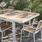 Table Et Chaise En Bois Printemps 2016 Truffaut