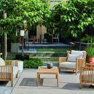 Un salon de jardin design Cinna