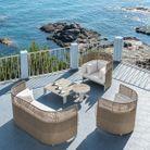 Un salon de jardin design Ethimo