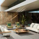 Salon de jardin design Cassina