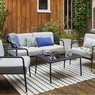 Salon de jardin design Habitat
