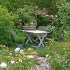 Jardin anglais romantique